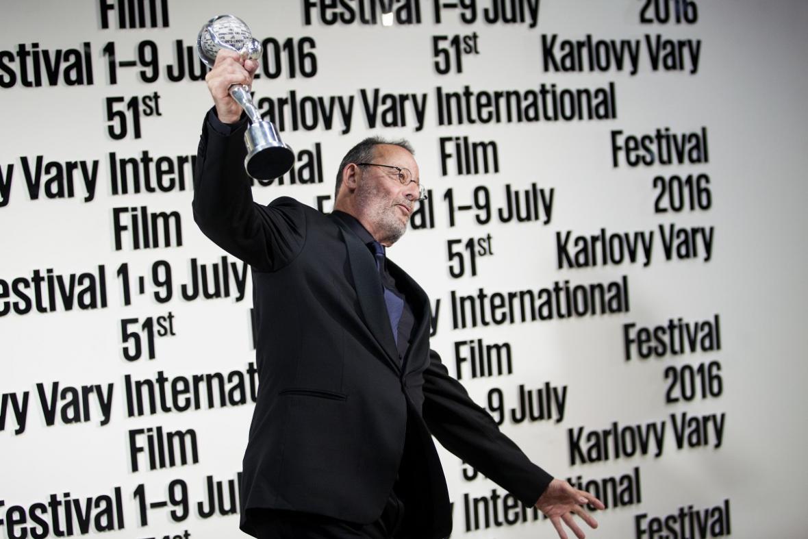Jean Reno s Cenou prezidenta festivalu