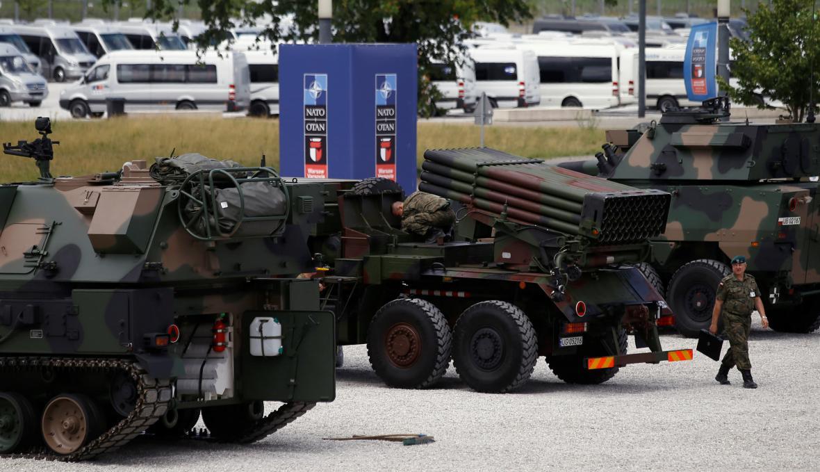 Přípravy na summit NATO ve Varšavě