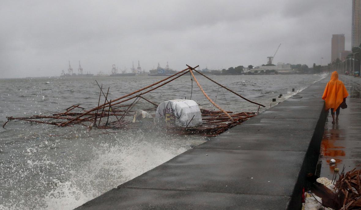 Tajfun Nepartak na Filipínách