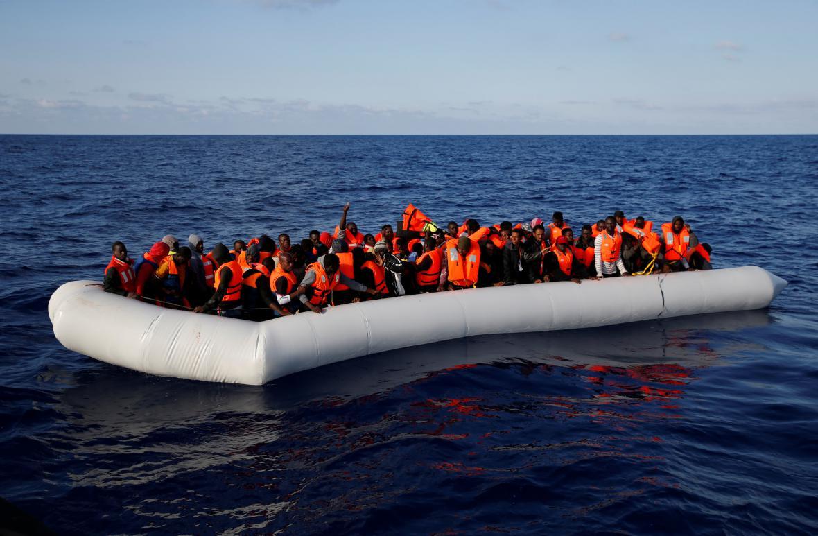 Migranti z Afriky