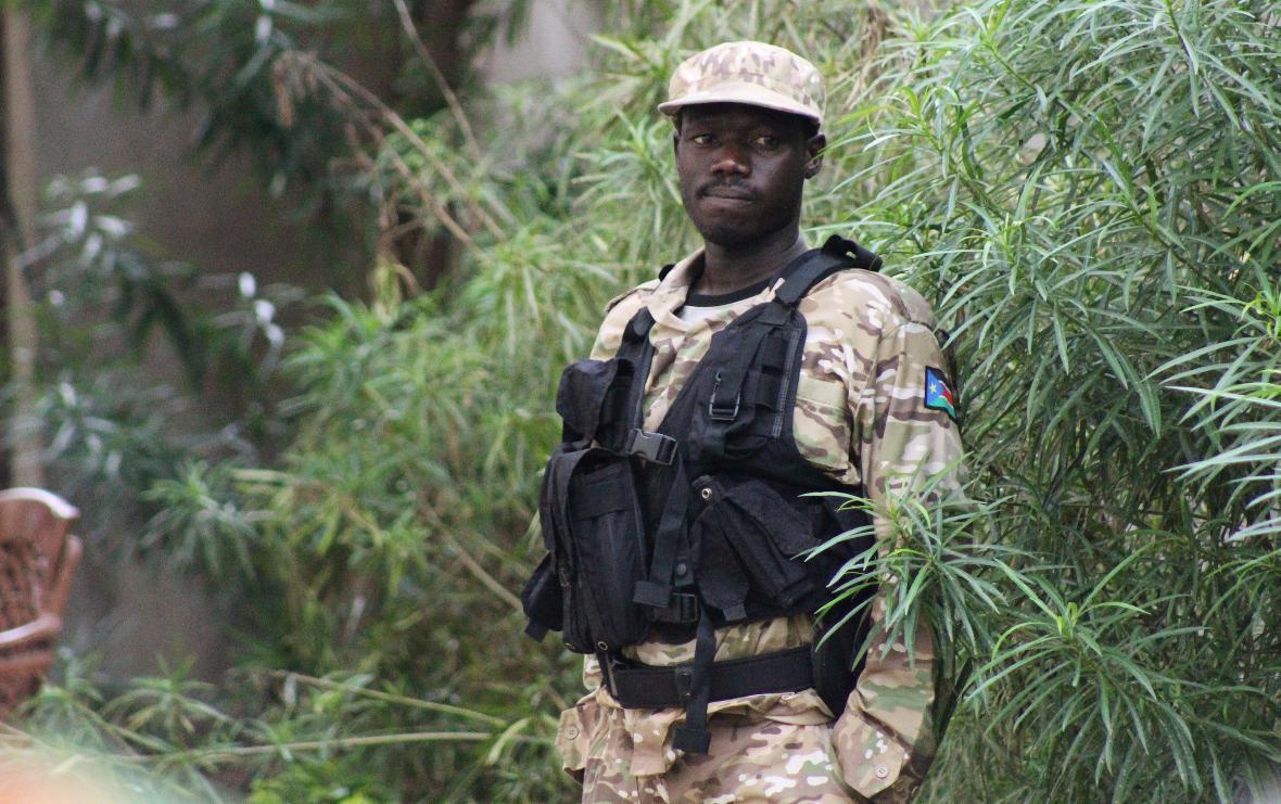 Jihosúdánský policista