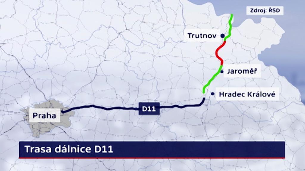 Trasa dálnice D11