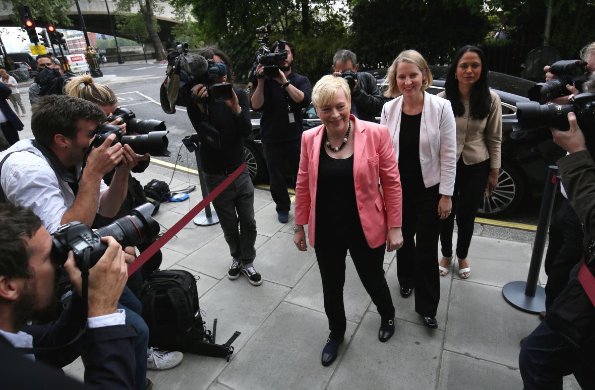 Kandidátka na předsedkyni labouristů Angela Eagleová