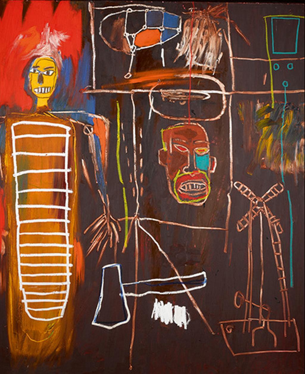 Jean-Michel Basquiat / Vzdušné síly, 1984