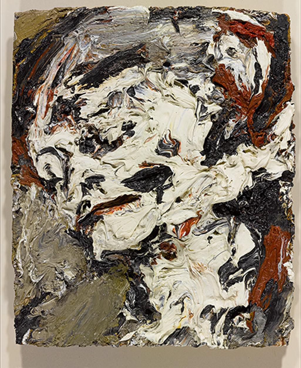 Frank Auerbach / Hlava Gerdy Boehm, 1965