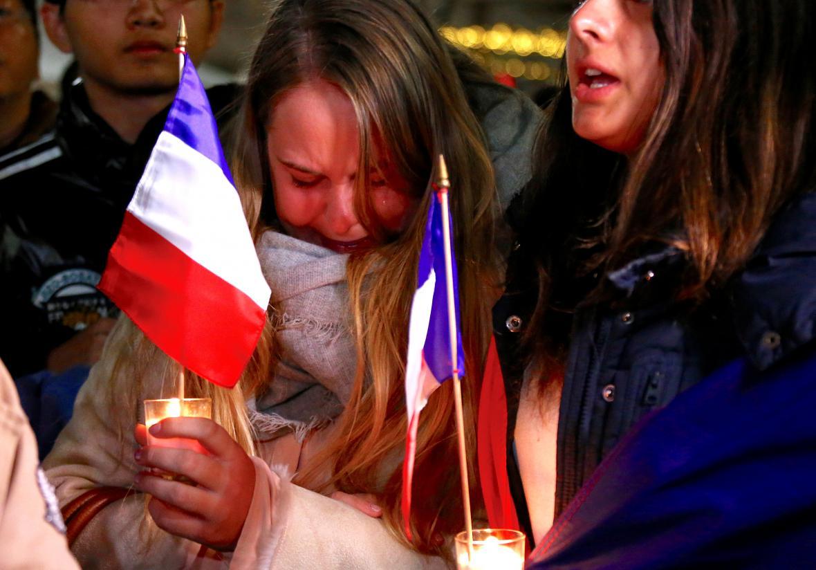 Smutek ovládl i Francouze v Sydney