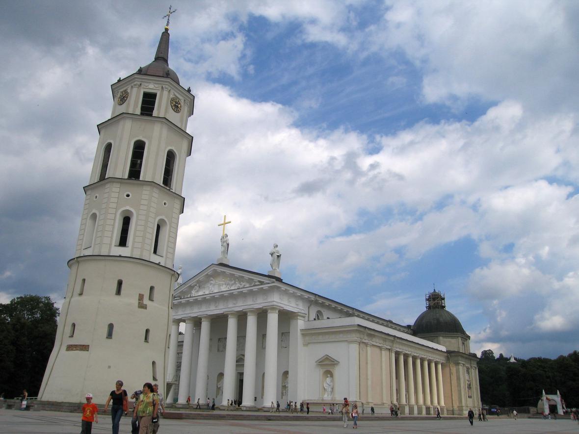 Vilnius a jeho katedrála