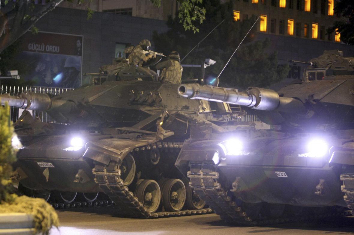 Pokus o převrat v Ankaře