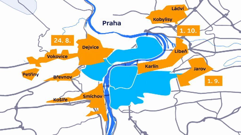 Místa, kde vzniknou modré zóny