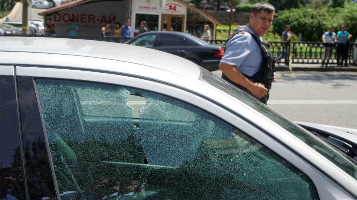 Přestřelka v Almaty