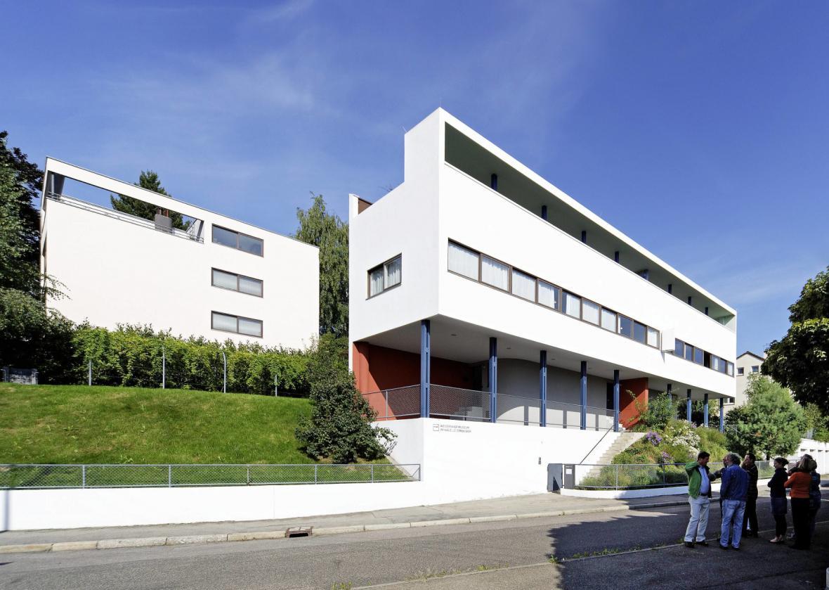 Dělnická kolonie Weissenhof ve Stuttgartu
