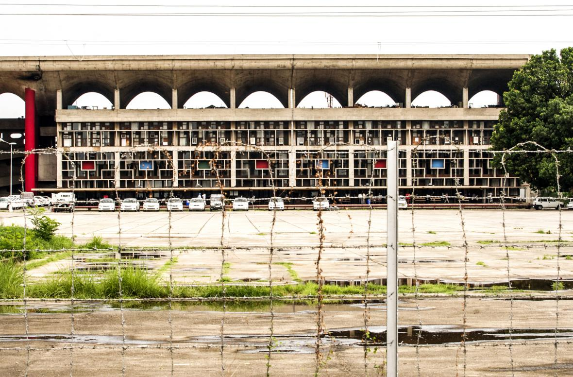 Budova Nejvyššího soudu v Čandigarhu