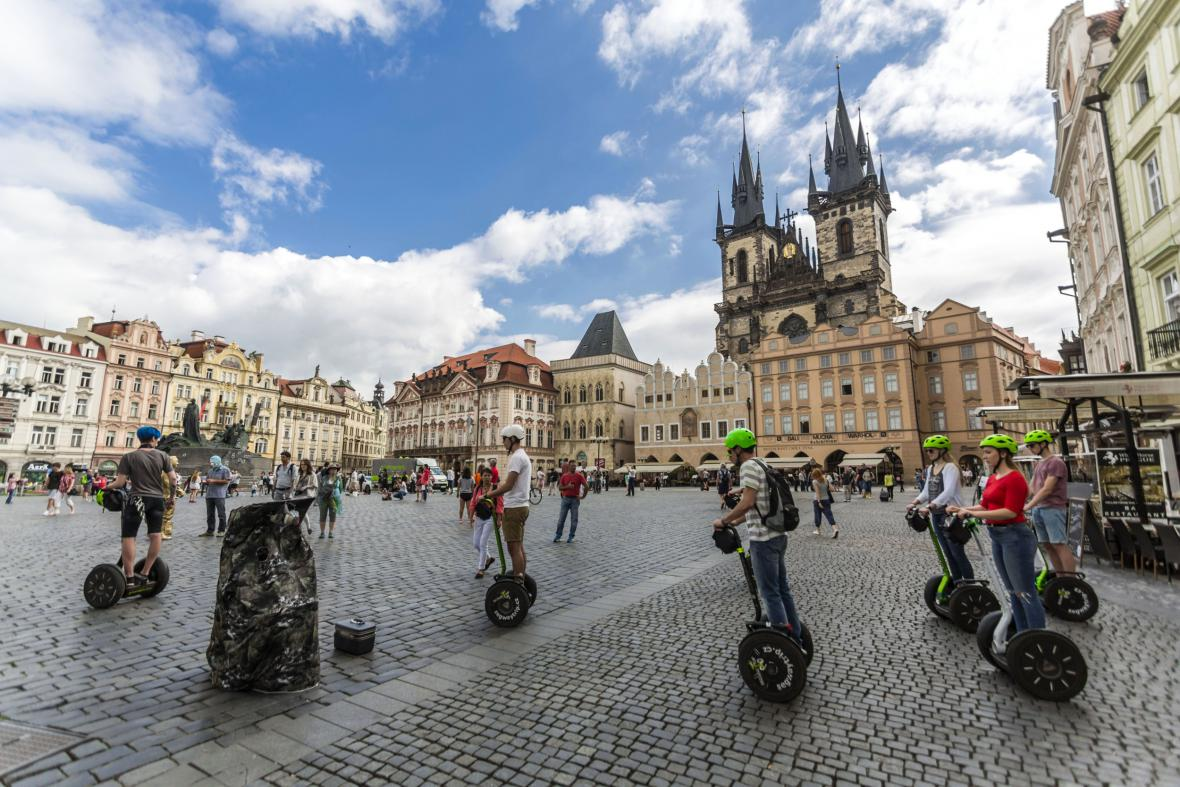 Segwaye v Praze
