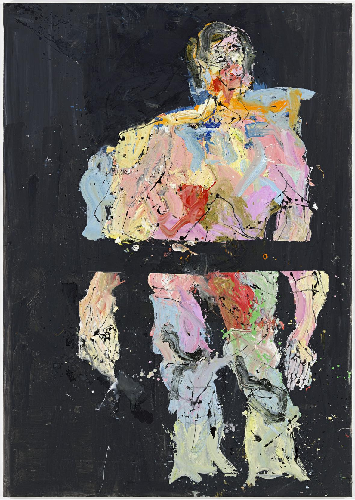 Georg Baselitz / First, if You Please, 2014