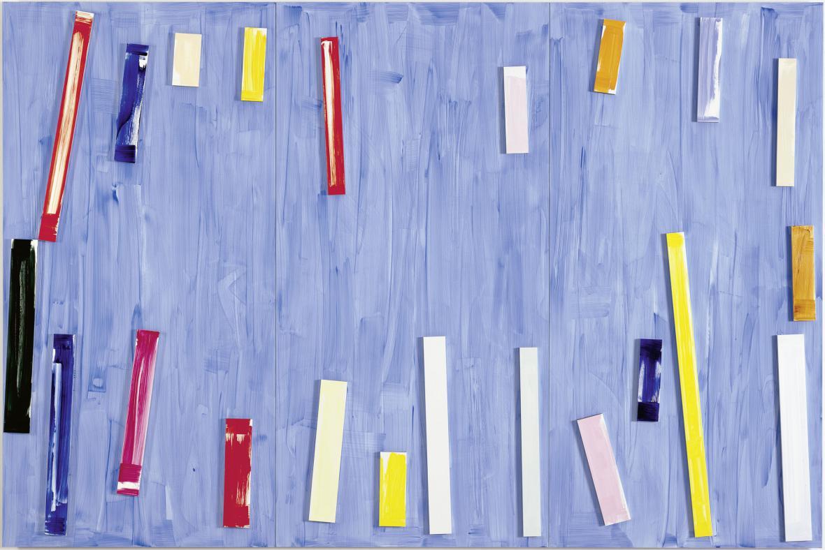Imi Knoebel / Modré pondělí, 1999