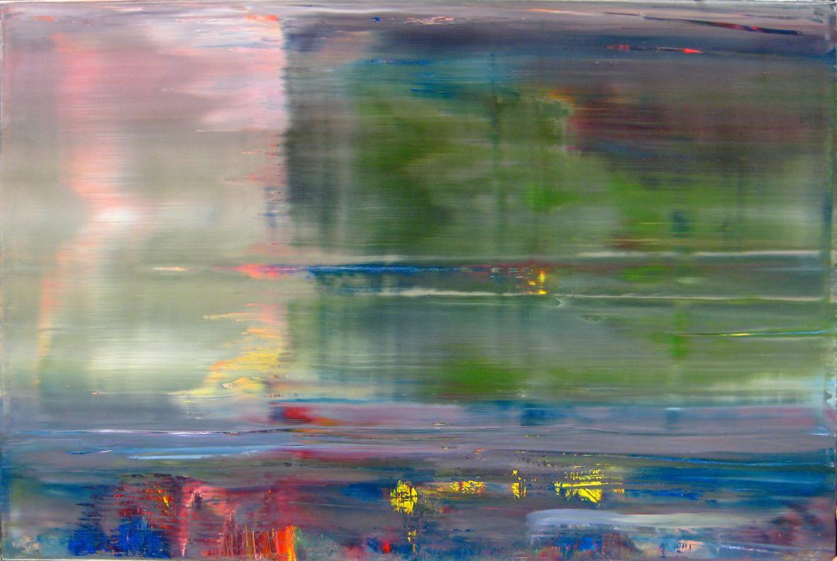 Gerhard Richter / Abstraktní malba, 2001