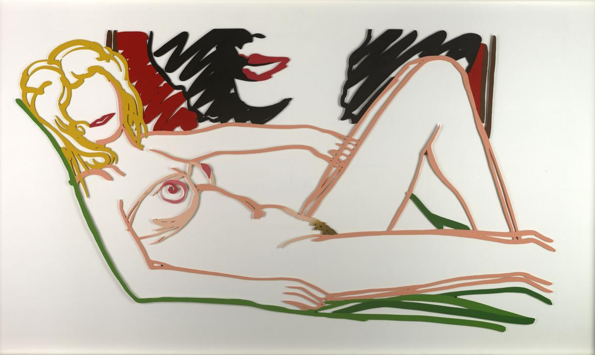 Tom Wesselmann / Rosemary Reclining by Liz, 1989–1991