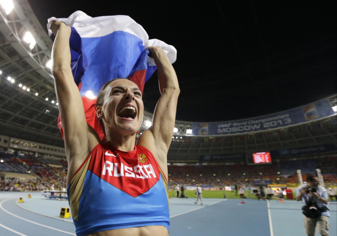 Jelena Isinbajevová, jedna z ikon ruské atletiky