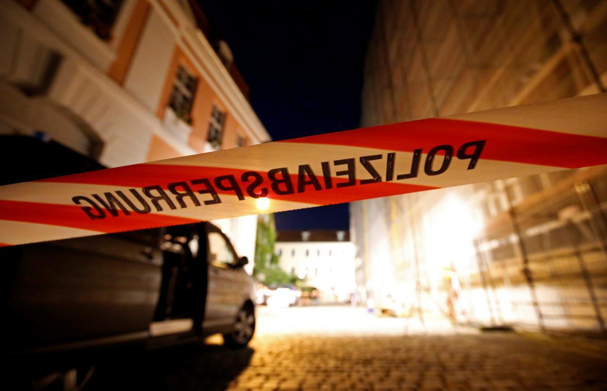 Uzavřené okolí místa útoku v bavorském Ansbachu