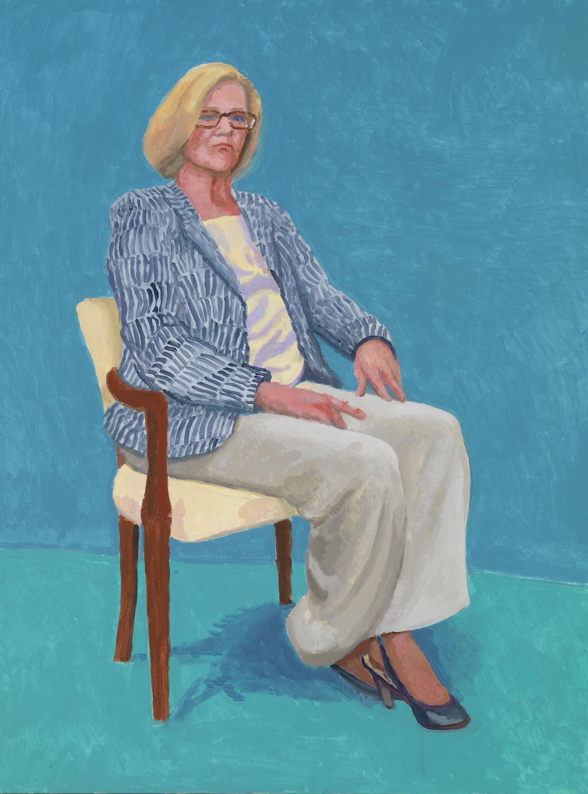 David Hockney / Dagny Corcoranová, 2014