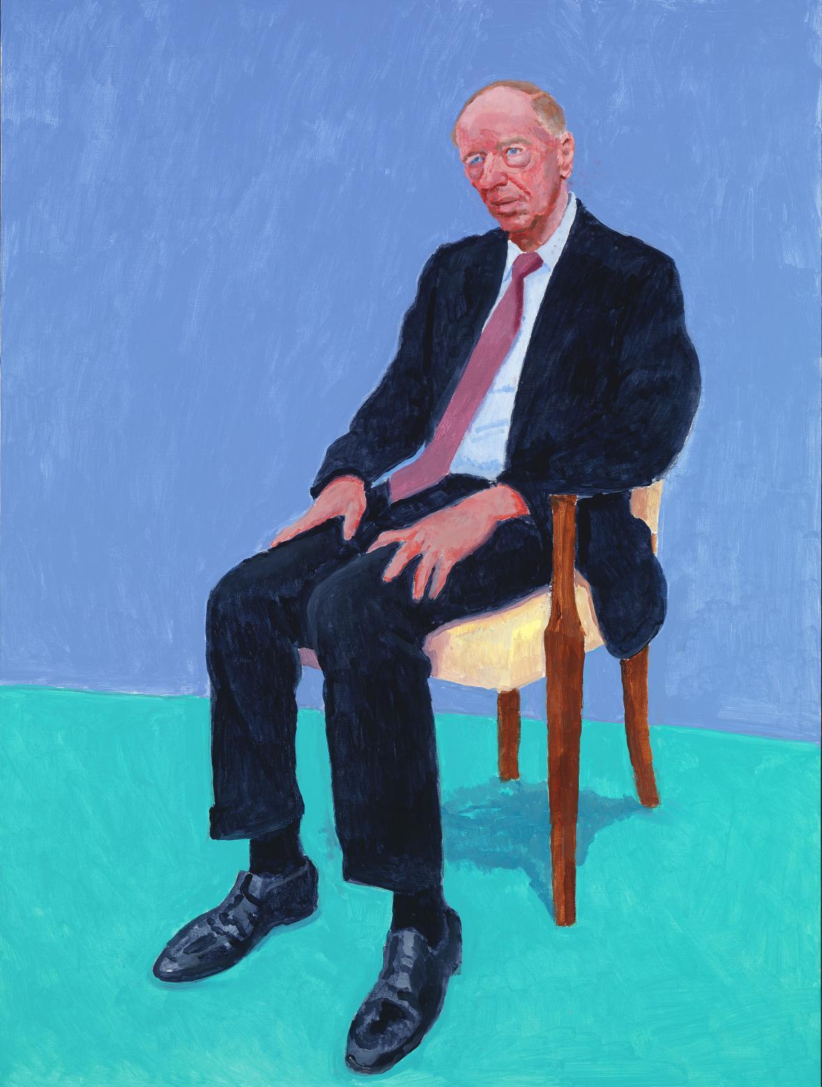 David Hockney / Jacob Rothschild, 2014