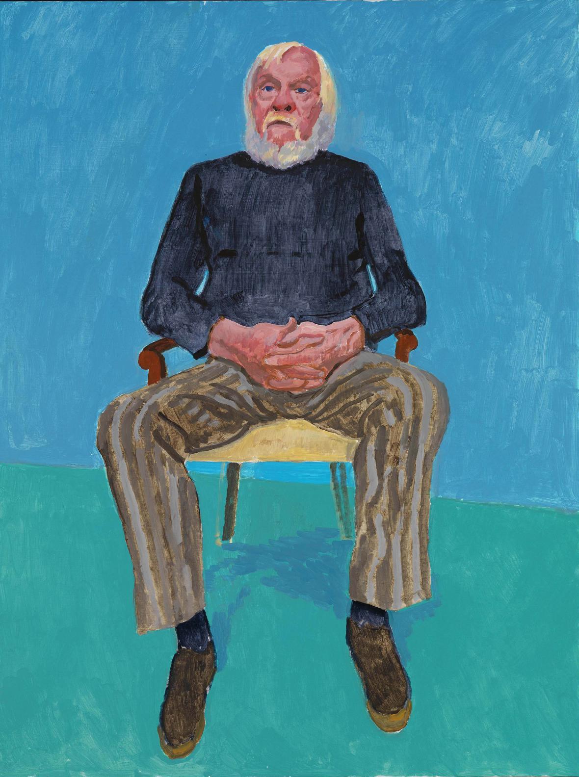 David Hockney / John Baldessar, 2013