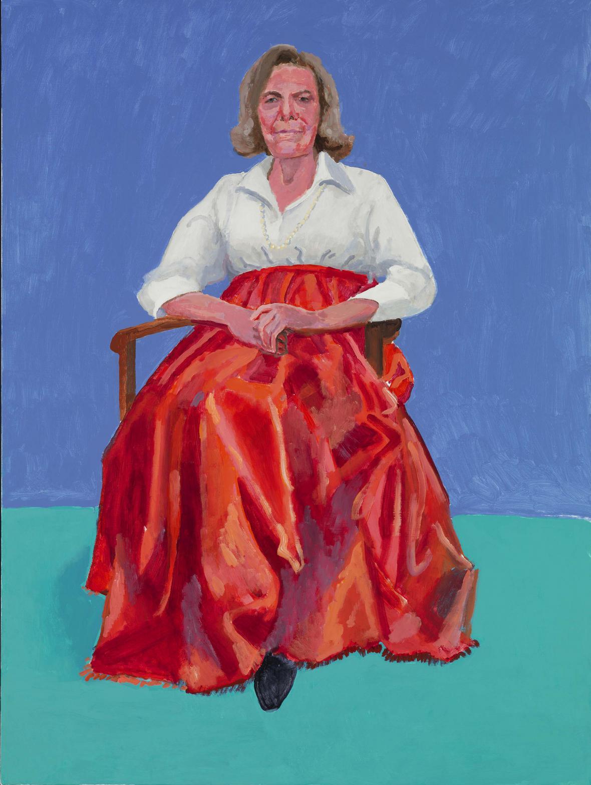 David Hockney / Rita Pynoosová, 2013