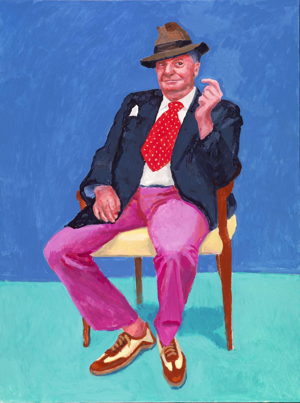 David Hockney / Barry Humphries, 2015