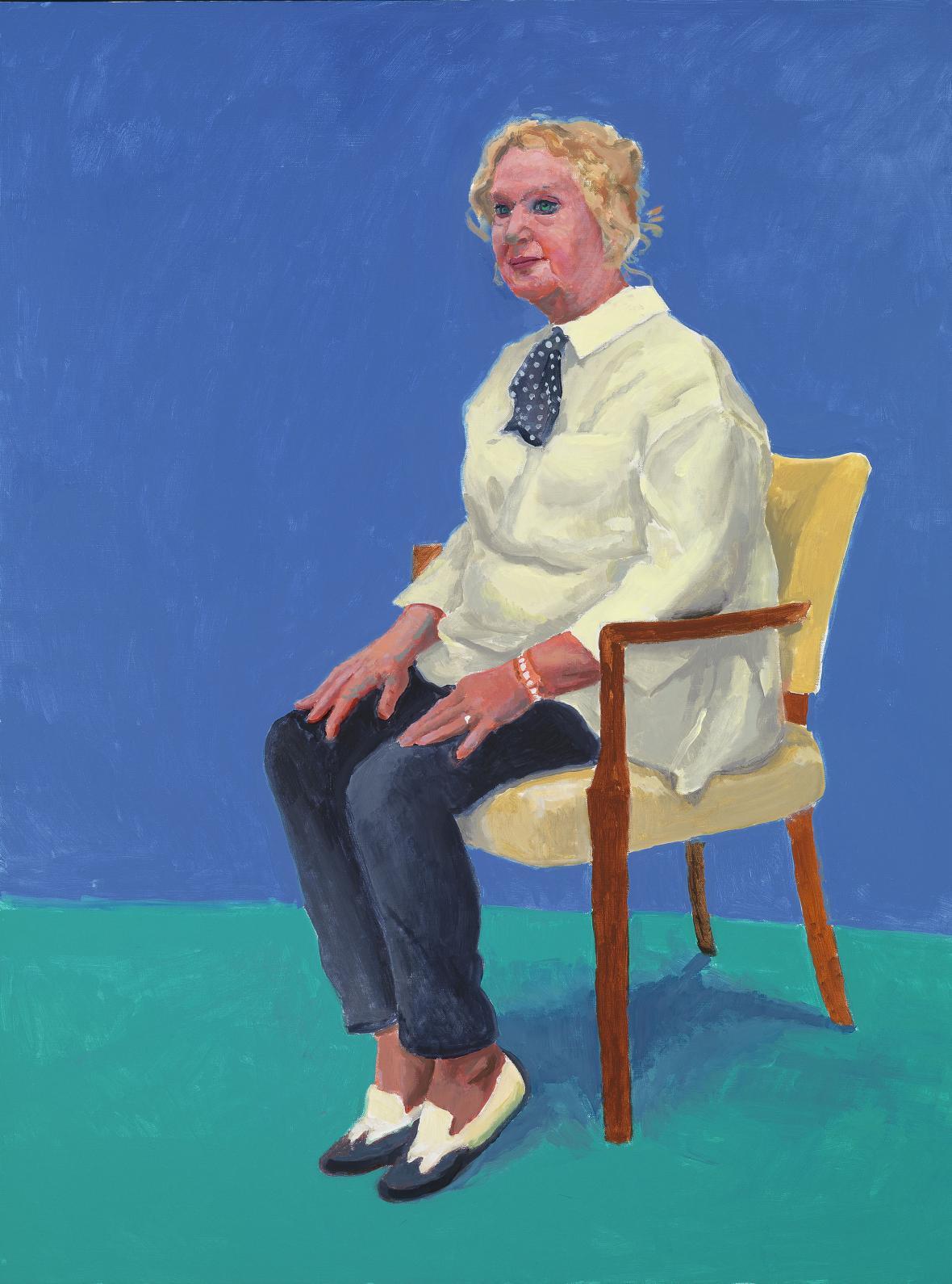David Hockney / Celia Birtwell, 2015