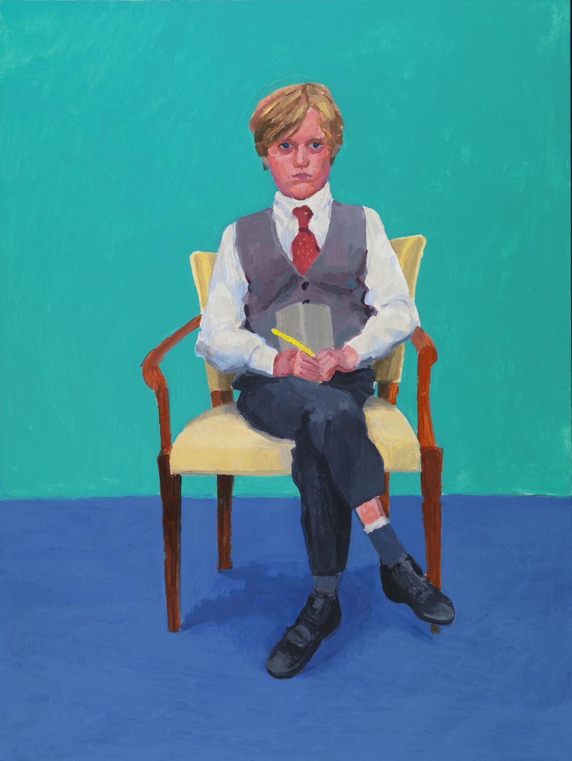 David Hockney / Rufus Hale, 2015