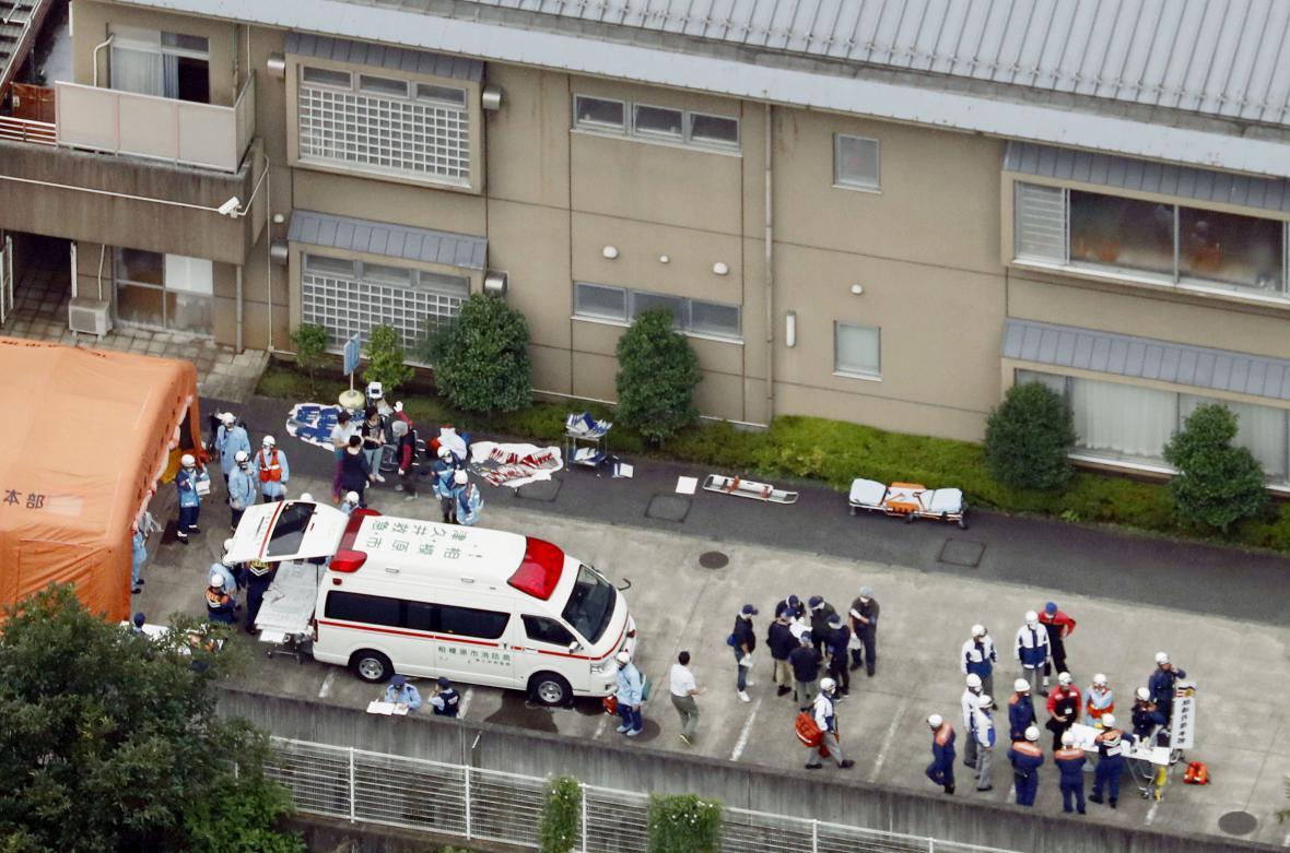 Útok nožem v Japonsku