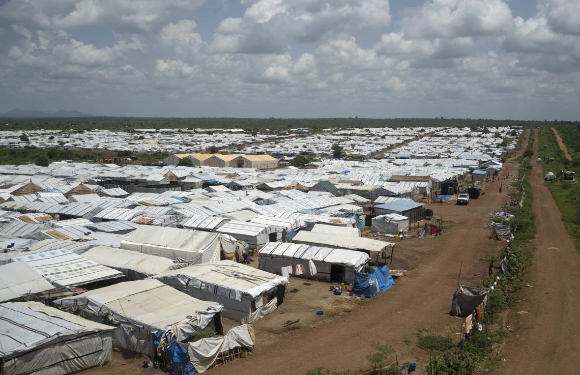 Záchytný tábor OSN pro civilisty v Jubě