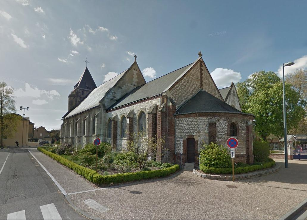 Kostel v Saint-Etienne du Rouvray