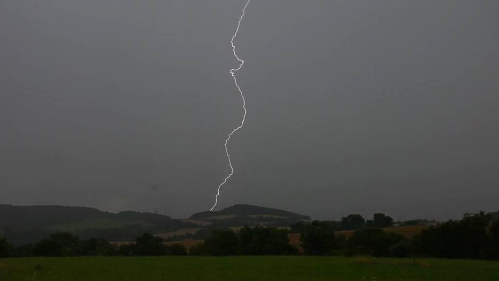Bouřka na Podbořansku