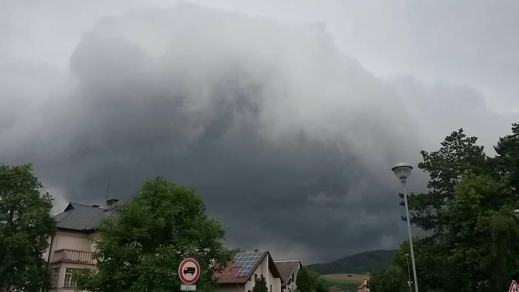 Bouřka ve Švihově u Klatov