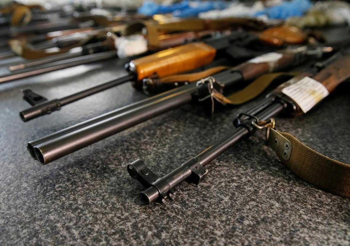 Zbraně na Ukrajině