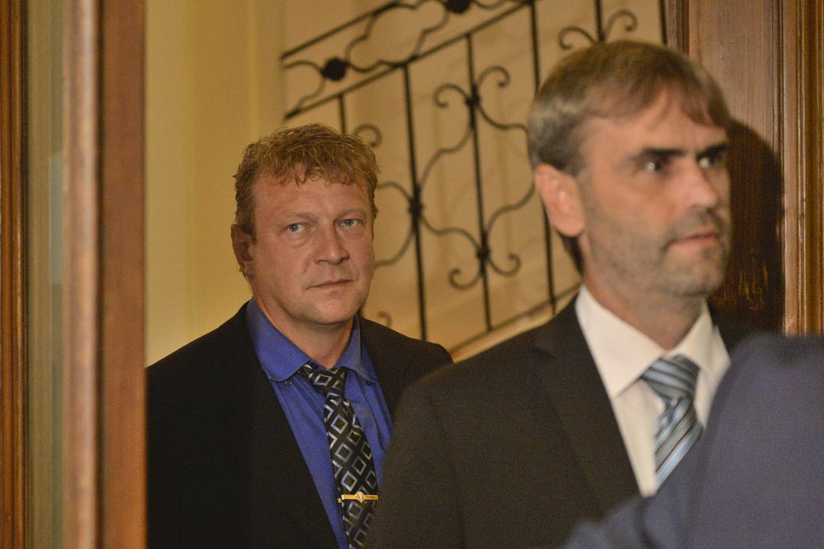 Jiří Komárek a Robert Šlachta