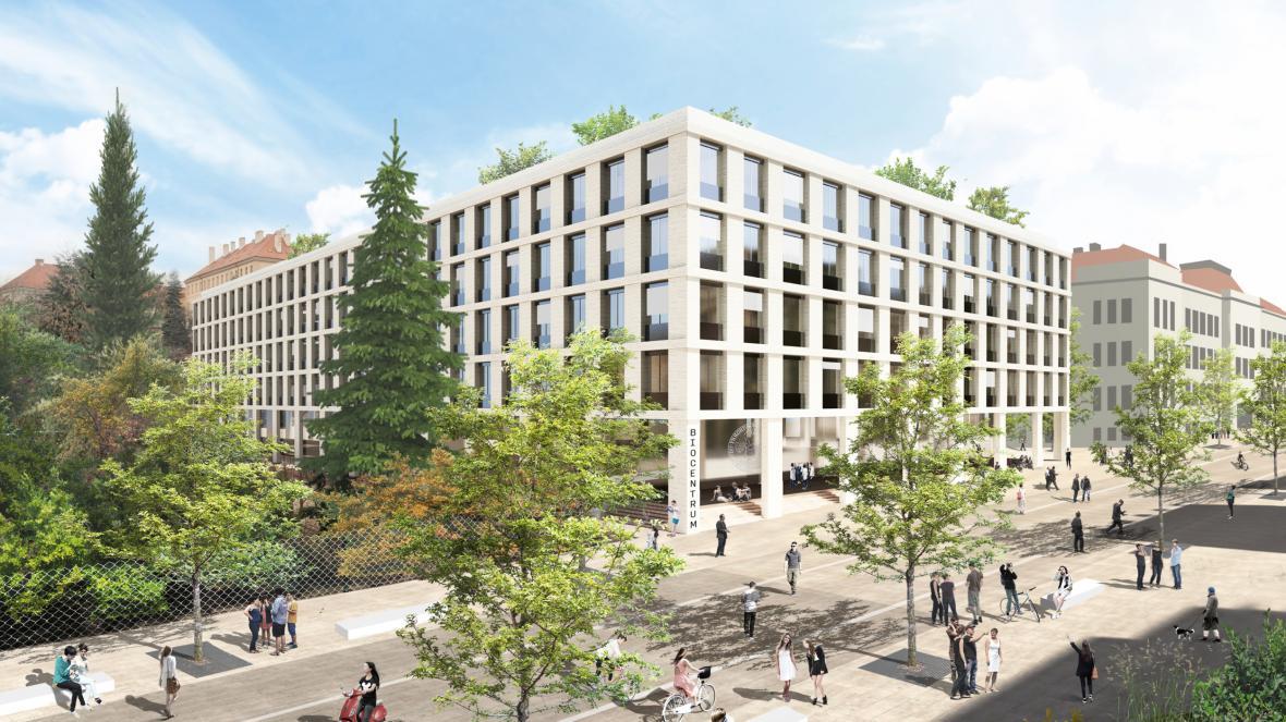 Návrh Biocentra od studia Atelier M1 architekti
