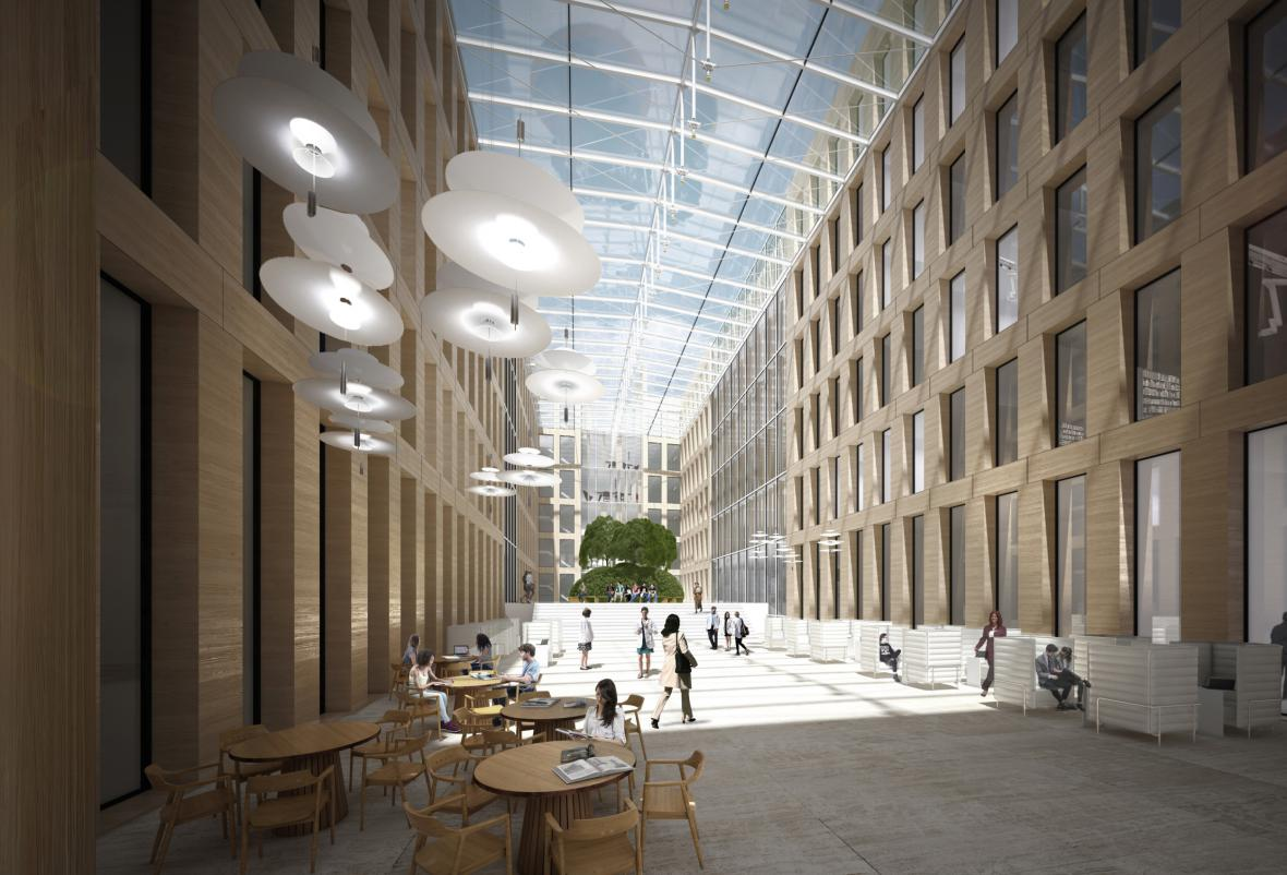 Návrh Biocentra od studia Znamení čtyř - architekti