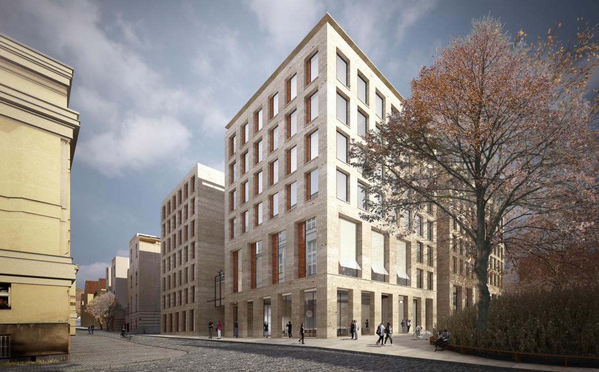 Návrh Globcentra od studia Znamení čtyř - architekti.