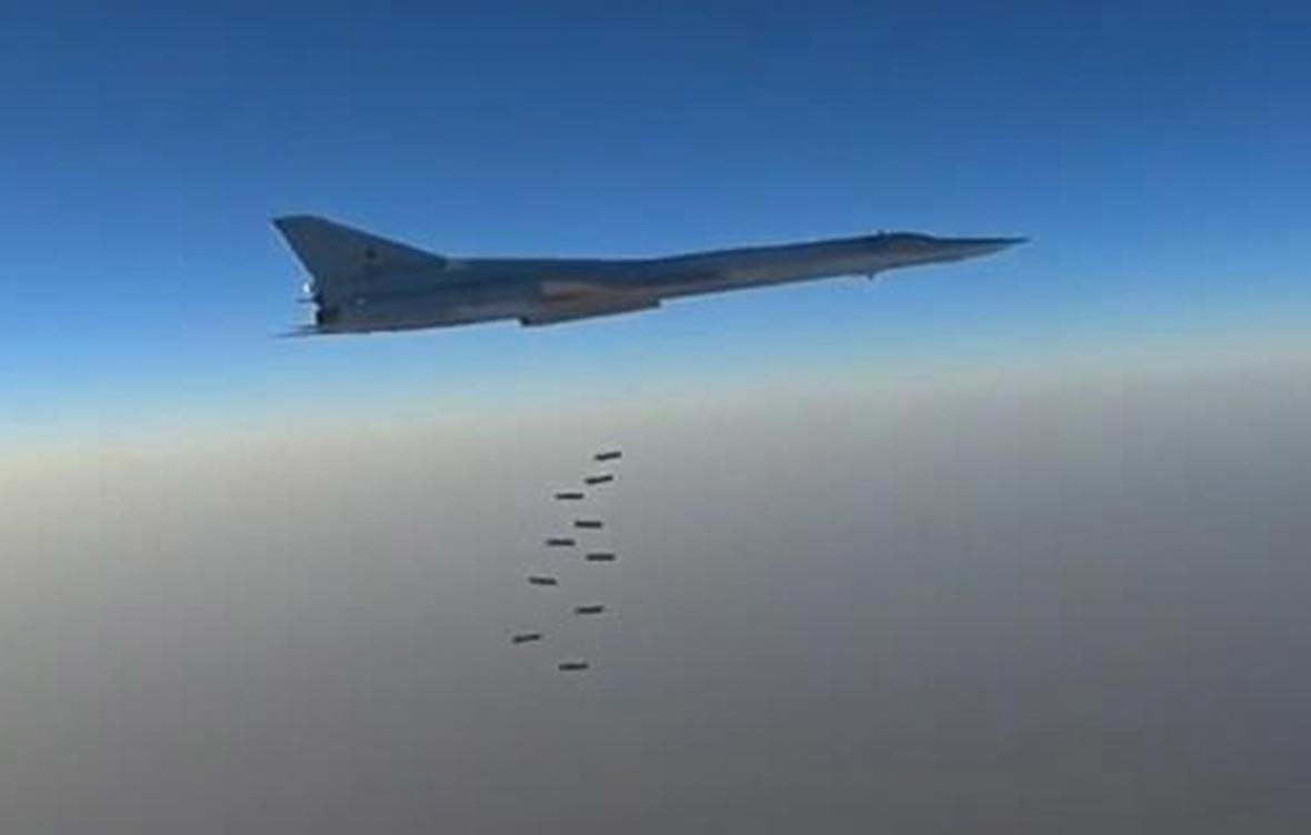 Ruské letouny útočí na IS
