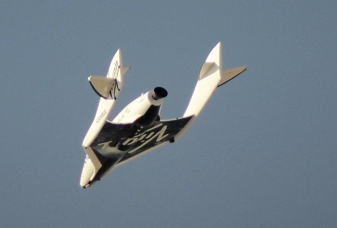 Raketa SpaceShipTwo