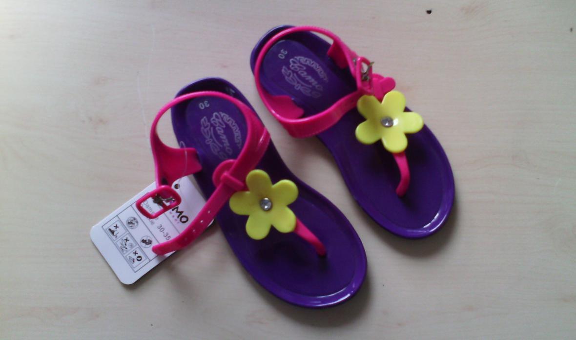 Dětské boty s ftaláty