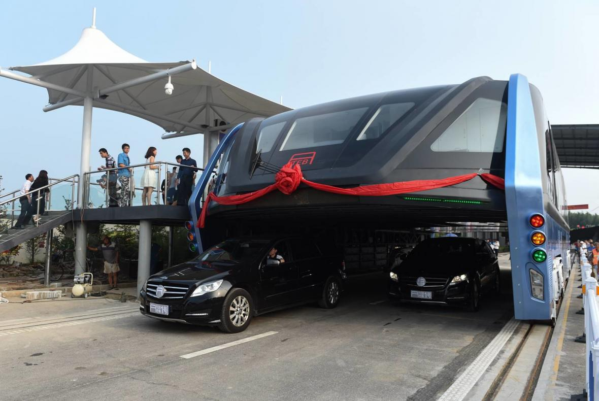 Čínský elektrobus