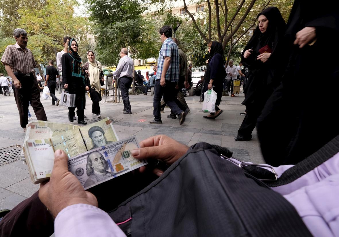 Peníze pro Írán