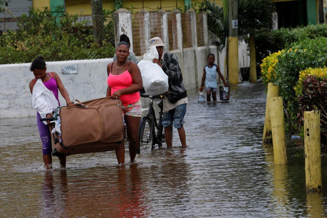 Hurikán Earl zasáhl Belize