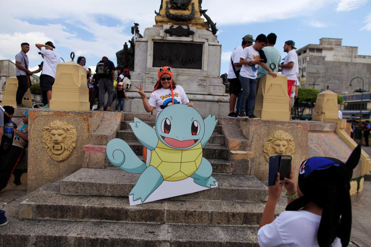 Pokémon GO se hraje i v Salvadoru