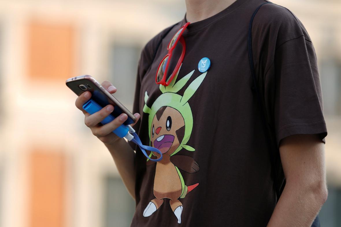 Hráč Pokémon GO