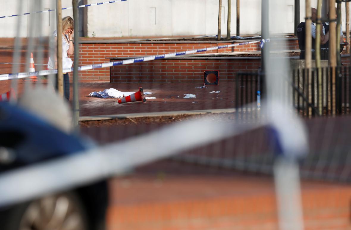 Útok v Charleroi