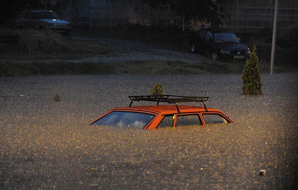 Povodeň se Skopji